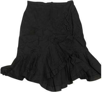 Paul & Joe Black Cotton Skirt for Women