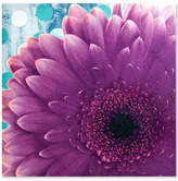 Jla Home Mi Zone Vibrant Violet Gel-Coated Canvas Print