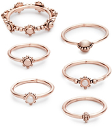 Luv Aj The Baroque Stack Ring Set