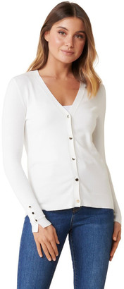 Forever New Mila Button Up Cardigan
