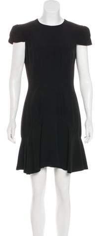 Alexander McQueen Mini Flounce Dress