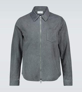 Officine Generale Suede zipped jacket