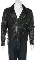Chrome Hearts Leather Moto Jacket