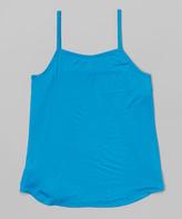 Erge Turquoise Camisole - Girls