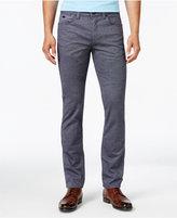 HUGO BOSS Green Men's C-Delaware Slim-Fit Micro-Dot Stretch Pants
