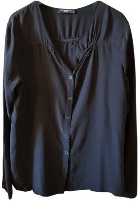 Bruuns Bazaar Black Silk Top for Women
