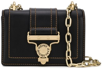 Versace Salopette buckle shoulder bag