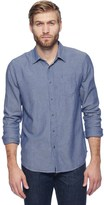 Splendid Jersey Lined Chambray Shirt