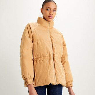 Levi's Quilted Padded Jacket with High-Neck