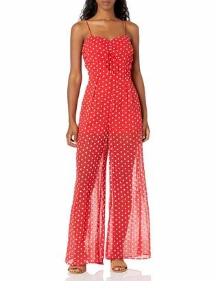 Finders Keepers findersKEEPERS Women's Blossom Sleeveless Sheer Jumpsuit