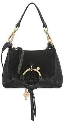 See by Chloe Mini Joan Suede & Leather Hobo Bag