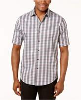 Tasso Elba Men's Check-Print Shirt, Created for Macy's