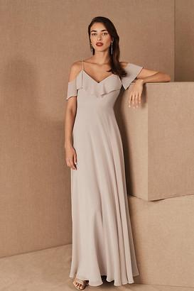 Jenny Yoo Mila Convertible Dress By in Purple Size 0