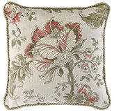 Veratex Rosario Floral Jacquard Square Pillow