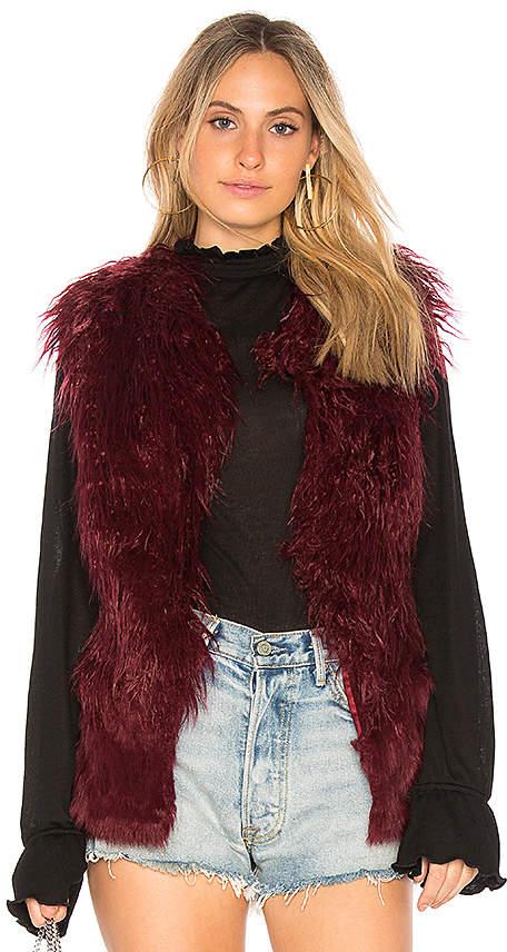 Doma Faux Fur Vest