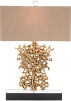 John-Richard Collection Golden Nugget Table Lamp, Gold
