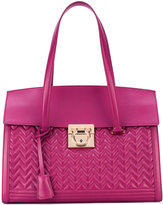 Salvatore Ferragamo quilted tote - women - Calf Leather/Nappa Leather - One Size
