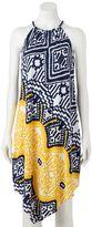 MSK Women's Printed Halter Dress