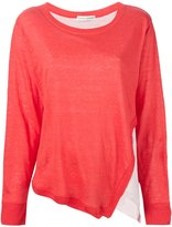 Tsumori Chisato side slit layered sweater