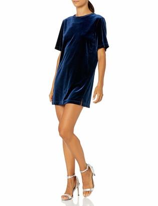 Only Hearts Women's Crushed Velvet Tee Dress