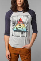 Urban Outfitters Empire Prism Raglan Tee