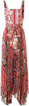 Alice + Olivia Floral Print Flared Dress