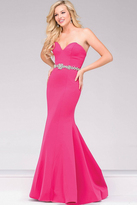 Jovani Sweetheart Neck Mermaid Prom Dress 34010