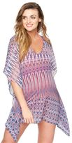 A Pea in the Pod Caftan Maternity Swim Cover-up- Ikat