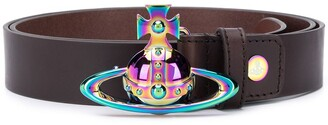 Vivienne Westwood The Orb leather belt