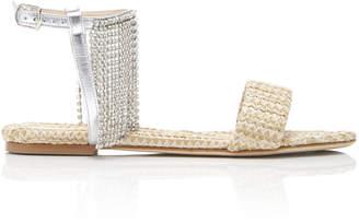 Polly Plume Gab Sandal Size: 38