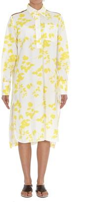 Plan C Printed Shirt Dress