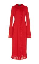 Paule Ka Knitted Fringe Coat