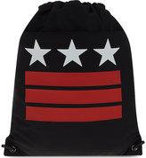 Givenchy Stars And Stripes Canvas Drawstring Bag