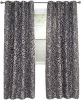 Asstd National Brand Cambridge Home Joy Jacquard Grommet-Top Curtain Panel