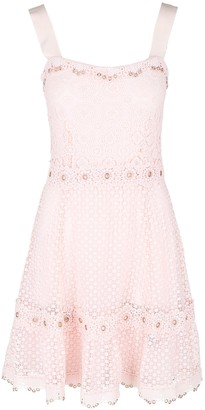 Maje Rosalina A-Line Lace Dress