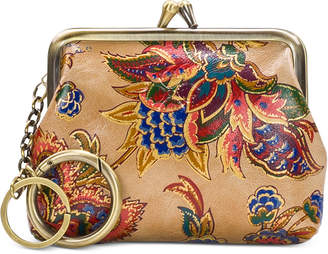 Patricia Nash French Tapestry Large Leather Coin Purse