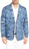 Tommy Bahama Men's Oasis Blooms Regular Fit Silk & Linen Blazer