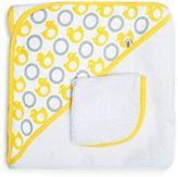 JJ Cole Hooded Towel in Yellow Ducks