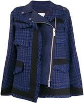Sacai houndstooth jacket