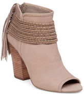 BCBGeneration Cinder Leather and Suede Fringe Booties