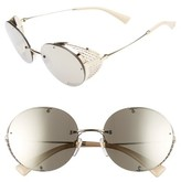 Valentino Women's 52Mm Round Sunglasses - Shiny Light Gold