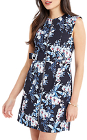 Oasis Tropical Orchid Shift Dress, Multi