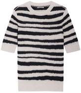 Bottega Veneta Striped Short Sleeve Top