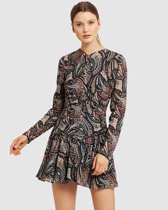 Stevie May Cannes Long Sleeve Mini Dress