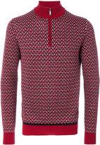 Brioni zipped collar sweater - men - Silk/Wool - 48