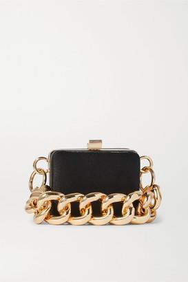 16Arlington Ralphie Mini Satin Shoulder Bag - Black
