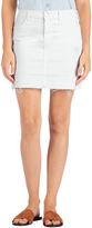 J Brand Leila Skirt in Destructed White
