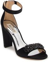 Badgley Mischka Edaline Crystal Embellished Ankle Strap Sandal