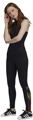 adidas Olympics Stagesuit (Black) Women's Jumpsuit & Rompers One Piece