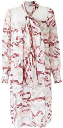 Olympiah Printed Silk Dress